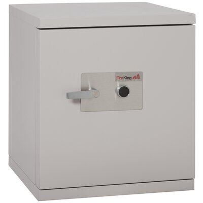 "Fireproof 1-Hour Data Security Safe with Impact-Rated Key Lock Size: 28.6"" x 25.5"" x 26.6"""