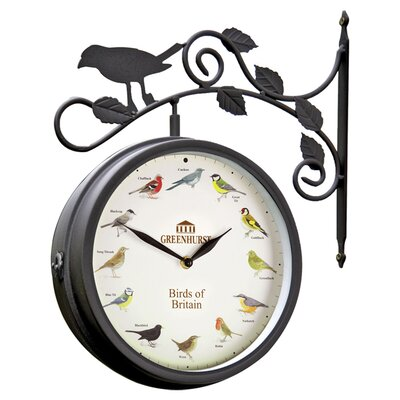 Gablemere Birds of Britain Swivel Clock