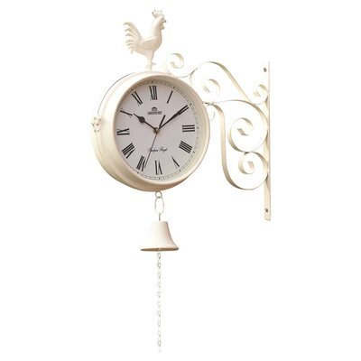 Gablemere Dual Sided Garden Wall Clock