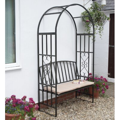 Gablemere 2 Seater Steel Arbour