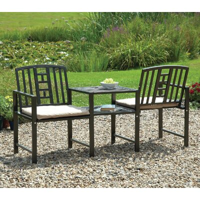 Gablemere 2 Seater Steel Love Seat