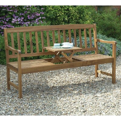 Gablemere 2 Seater Wooden Bench