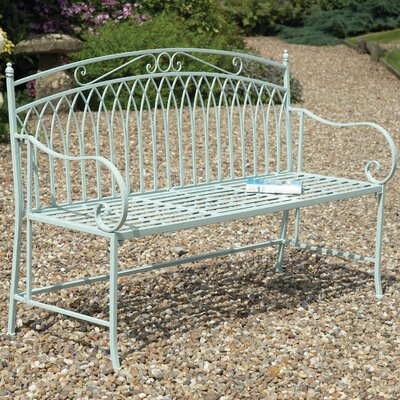 Gablemere Versailles 2 Seater Steel Bench