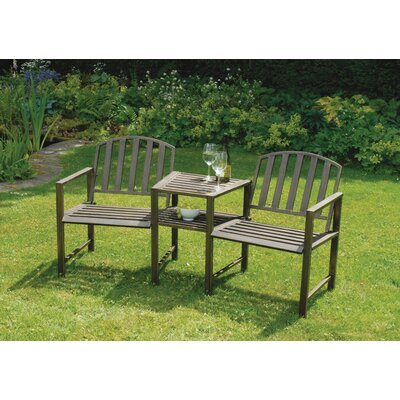 Gablemere Doverdale 2 Seater Steel Love Seat