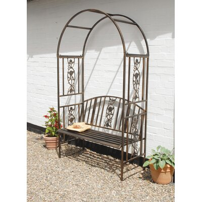 Gablemere Coalbrookdale 2 Seater Iron Arbour
