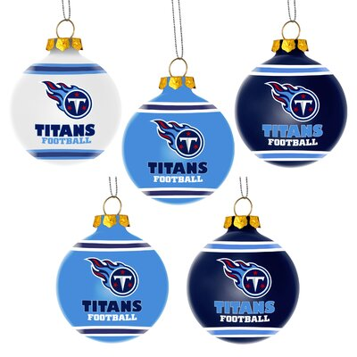 Shatterproof Ball Ornament NFL Team: Tennessee Titans
