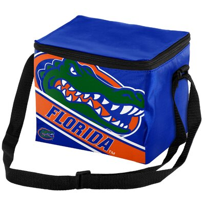 6 Can NCAA Big Logo Stripe Picnic Cooler NCAA Team: University of Florida Gators