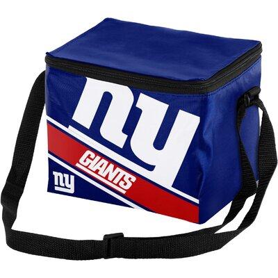 6 Can Big Logo Stripe Softsided Cooler NFL Team: New York Giants