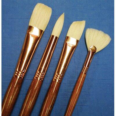 Natural Bristle Round Brush Size: 2