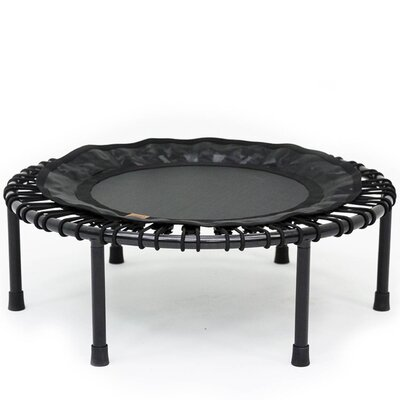 3' Nimbus Round Folding Fitness Rebounder Trampoline with Free Carrying Case