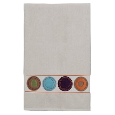 Dot Swirl 100% Cotton Bath Towel Color: Multi