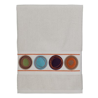 Dot Swirl 100% Cotton Hand Towel Color: Multi