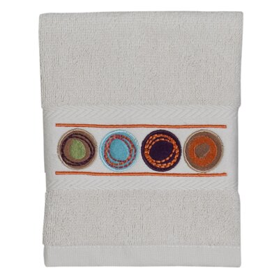 Dot Swirl 100% Cotton Washcloth Color: Multi