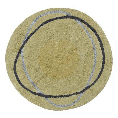 Dot Swirl Citron Rug