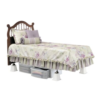 Home Bed Riser Color: White