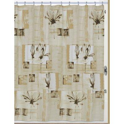 Botanical Collage Cotton Shower Curtain