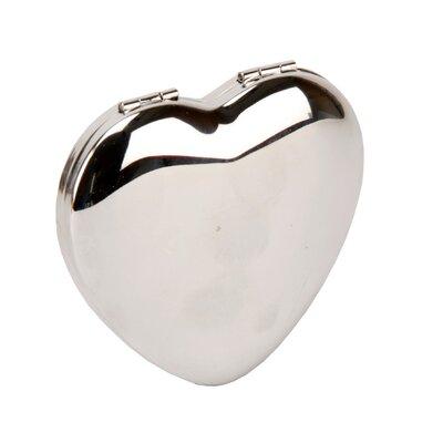 Juliana Impressions Sophia Heart Shape Compact Mirror