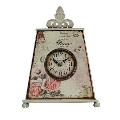 Juliana Impressions Mantel Clock