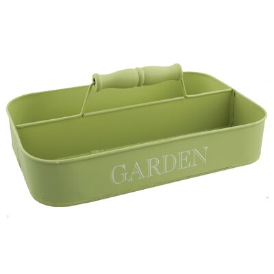 Juliana Impressions Garden Tin Storage Tray with Handle