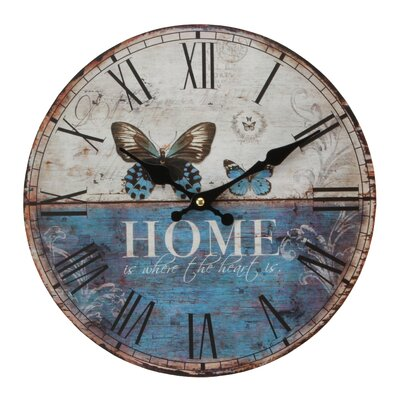 Juliana Impressions Hometime 30cm Home Wall Clock