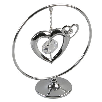 Juliana Impressions Decorative Crystocraft Heart with Crystal