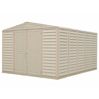 Duramax Woodbridge 10 x 13 Plastic Storage Shed