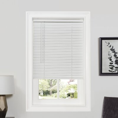 "Deluxe Sundown GII Room Darkening Venetian Blind Color: Pearl White, Size: 46"" W x 64"" L"