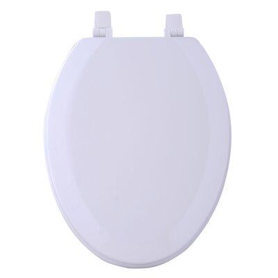 Fantasia Elongated Toilet Seat Finish: White