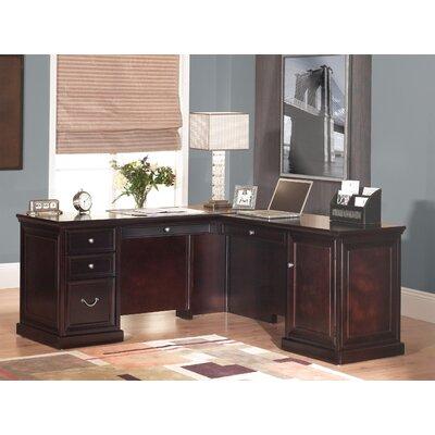 Reynoldsville L-Shape Executive Desk