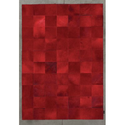 Angelo Starless Hand-Woven Red Area Rug