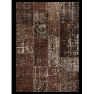 Angelo Up-Cycle Hand-Woven Brown Area Rug