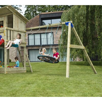 Blue Rabbit Wood Swing Set Frame