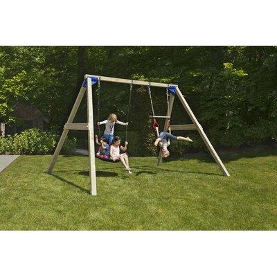 Blue Rabbit KBT Wood Free Swing Set