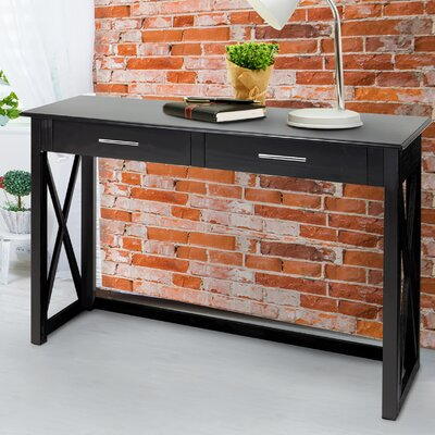 Stronghurst Console Table Color: Black