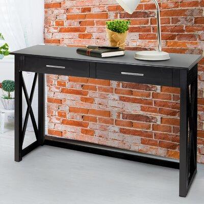 Stronghurst Console Table Color: Black