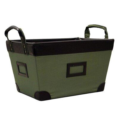 Large Storage Basket Color: Olive