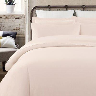 Krushap Vintage 200 Thread Count 100% Cotton Sheet Set Size: California King, Color: Blush