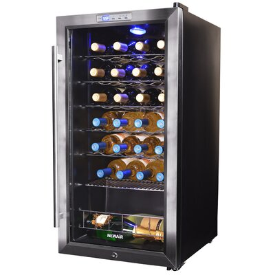 27 Bottle Single Zone Freestanding Wine Cooler