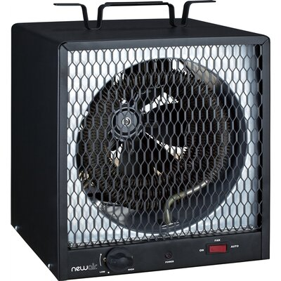 NewAir 5,600 Watts Portable Electric Fan Compact Heater