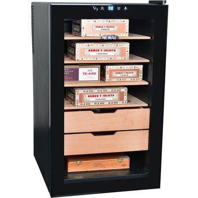 NewAir Cigar Freestanding Humidor Refrigerator