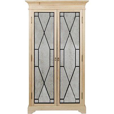 Naomi Metal Hutch 2 Door Accent Cabinet