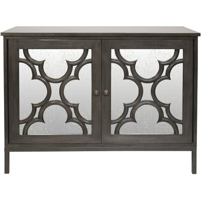 Basilica 2 Door Accent Cabinet Color: Pale