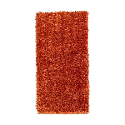 House Additions Arola Orange Area Rug