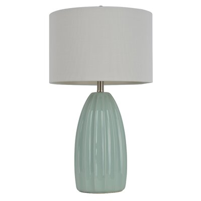 """J. Hunt Home 27"""" H Table Lamp with Drum Shade & Reviews ..."""