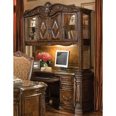 Windsor Court Executive Desk with Hutch