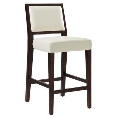 "5West 26"" Citizen Bar Stool Upholstery: Ivory"