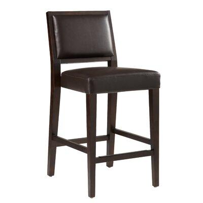 "5West 26"" Citizen Bar Stool Upholstery: Brown"