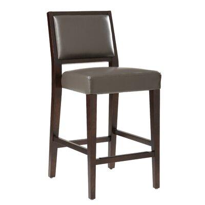"5West 26"" Citizen Bar Stool Upholstery: Grey"