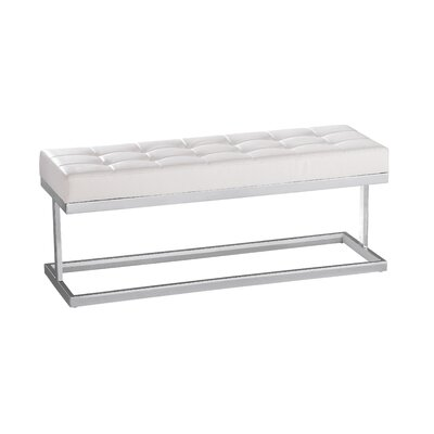 Ikon Viceroy Two Seat Bench Color: White