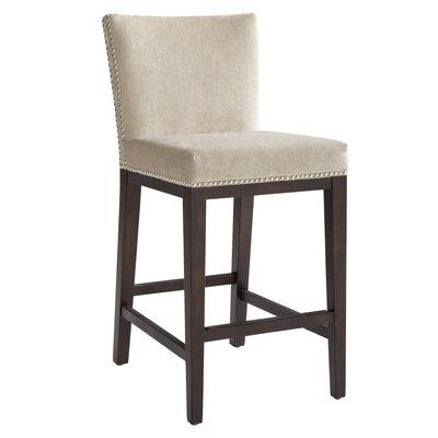 "5West Vintage 30"" Bar Stool Upholstery: Linen"